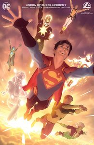 [Legion Of Super Heroes #7 (Card Stock Alex Garner Variant Edition) (Product Image)]