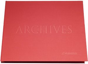 [The Art Of Ralph McQuarrie Archives: Limited Edition Red (Hardcover) (Product Image)]