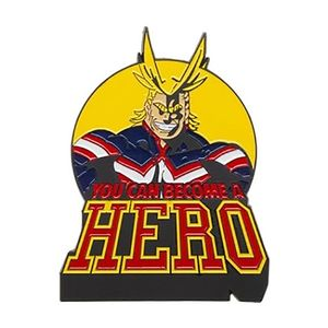 [My Hero Academia: Lapel Pin: All Might (Product Image)]