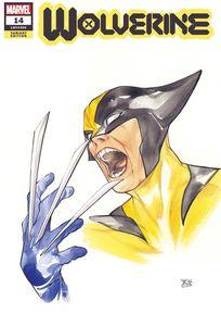[Wolverine #14 (Momoko Marvel Anime Variant) (Product Image)]