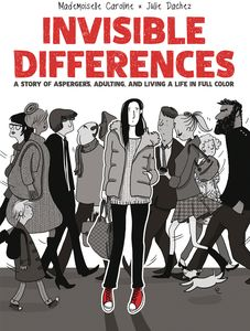 [Invisible Differences:  Story Of Aspergers, Adulting & Living Life Full Color (Hardcover) (Product Image)]