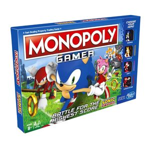 [Monopoly: Sonic Gamer (Product Image)]