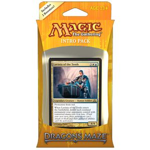 [Magic The Gathering: Dragon's Maze Intro Pack (Product Image)]