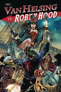 [Van Helsing Vs Robyn Hood #4 (Cover B Vitorino) (Product Image)]