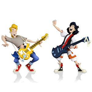 [Bill & Ted's Excellent Adventure: Toony Classic Action Figure 2-Pack: Bill & Ted (Product Image)]