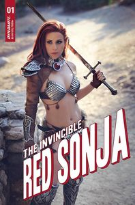 [Invincible Red Sonja #1 (Cover E Dominica Cosplay) (Product Image)]