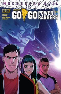 [Go Go Power Rangers #31 (Cover A Carlini Connecting) (Product Image)]