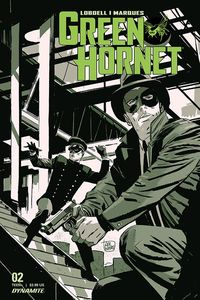 [The cover for Green Hornet #2 (Cover A Weeks)]