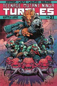 [Teenage Mutant Ninja Turtles Ongoing: Volume 21: Battle Lines (Product Image)]