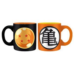 [Dragon Ball: Espresso Mugs: Ball & Kame (Set Of 2) (Product Image)]