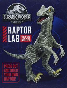 [Jurassic World: Fallen Kingdom: Raptor Lab: Book & Model (Hardcover) (Product Image)]