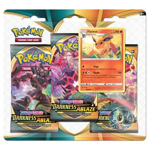[Pokemon: Sword & Shield 3: Darkness Ablaze: Booster Triple Pack (Product Image)]