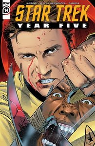 [Star Trek: Year Five #14 (Cover A Thompson) (Product Image)]