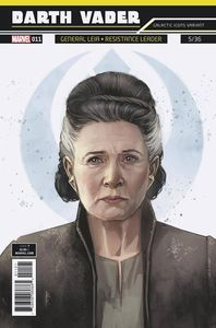[Star Wars: Darth Vader #11 (Reis Galactic Icon Leia Variant) (Product Image)]