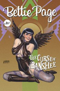 [Bettie Page: The Curse Of The Banshee #1 (Cover B Linsner) (Product Image)]