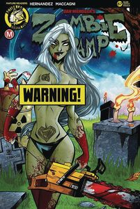 [Zombie Tramp: Ongoing #67 (Cover F Trom Risque) (Product Image)]