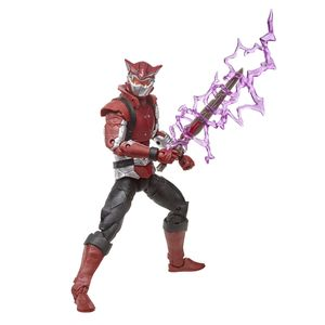 [Power Rangers: Beast Rangers: Lightning Collection Legacy Action Figure: Cybervillain Blaze (Product Image)]