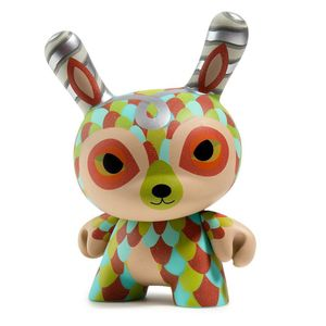 [Kid Robot: 5 Inch Dunny Figure: Horrible Adorables: Curly Horned Dunnylope (Product Image)]