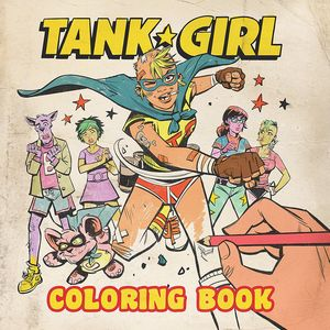 [Tank Girl: Colouring Book (Product Image)]