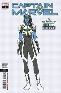 [Captain Marvel #9 (2nd Printing Carnero Variant) (Product Image)]
