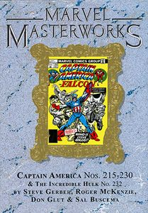 [Marvel Masterworks: Captain America Volume 12 (DM Edition Variant Hardcover) (Product Image)]