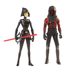 [Rogue One: A Star Wars Story: Deluxe Action Pack 2-Pack: Wave 2: Rebels: 7th Sister Inquisitor Vs Darth Maul (Product Image)]