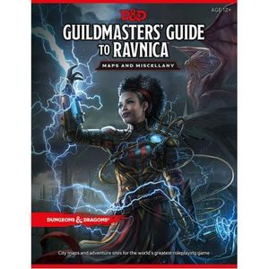 [Dungeons & Dragons: Guildmasters Guide To Ravnica: Maps & Miscellany (Product Image)]