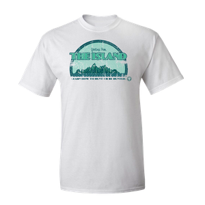 [Arrow: T-Shirt: Greetings From The Island (Product Image)]
