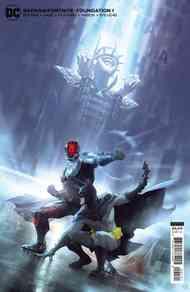 [The cover for Batman/Fortnite : Foundation #1 (One Shot Alex Garner Cardstock Variant)]