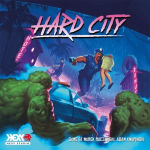 [Hard City: Board Game (Product Image)]