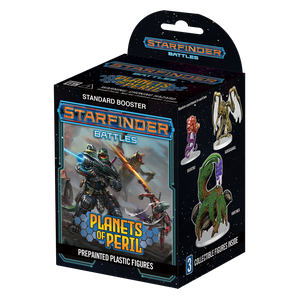 [Starfinder Battles: Planets Of Peril (Booster Pack) (Product Image)]