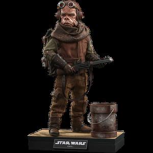 [Star Wars: The Mandalorian: Hot Toys Action Figure: Kuiil (Product Image)]