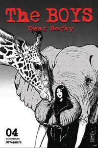 [The Boys: Dear Becky #4 (Robertson Line Art Premium LTD Variant) (Product Image)]