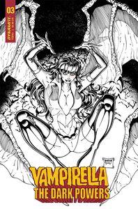 [Vampirella: Dark Powers #3 (Robson Black & White Variant) (Product Image)]
