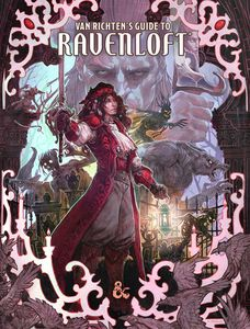 [Dungeons & Dragons: Van Richten's Guide To Ravenloft (Alternative Cover) (Product Image)]