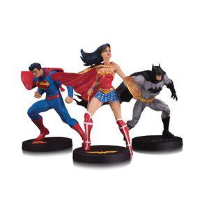 [DC: Designer Series Statue 3-Pack: Superman, Wonder Woman & Batman (Product Image)]