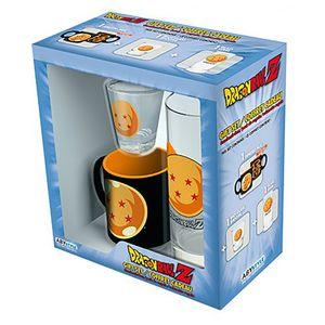 [Dragon Ball: Glass, Shot Glass & Mini Mug Giftbox (Product Image)]