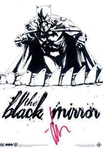 [Absolute Batman: The Black Mirror (Forbidden Planet Signed Mini Print Edition Hardcover) (Product Image)]