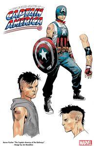 [United States: Captain America #1 (Bazaldua Design Variant) (Product Image)]
