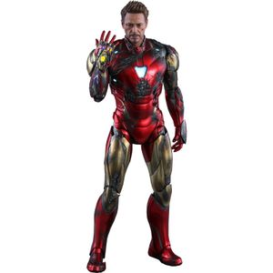 [Avengers: Endgame: Die Cast Hot Toys Action Figure: Iron Man: Mark LXXXV Battle Damaged (Product Image)]