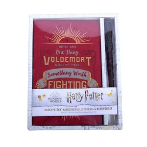 [Harry Potter: Ruled Journal & Wand Pen: Harry Potter (Hardcover) (Product Image)]