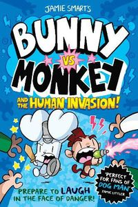 [Bunny Vs Monkey Collection: Volume 2: The Human Invasion (Product Image)]