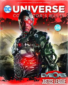 [DC Batman Universe Bust Collection #34: Cyborg (Product Image)]
