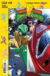 [Mighty Morphin Power Rangers #25 (Subscription Gibson Variant) (Product Image)]