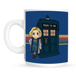 [Doctor Who: 13th Doctor: Mug: Rainbow TARDIS (Product Image)]
