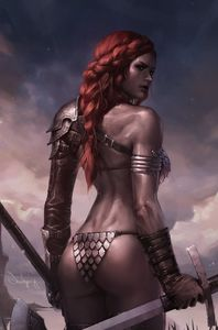 [Red Sonja: Birth Of The She Devil #1 (Jeehyung Lee Virgin Variant) (Product Image)]