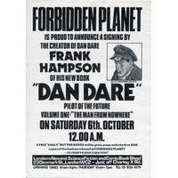 [Frank Hampson signing Dan Dare (Product Image)]