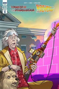 [Transformers/Back To Future #3 (Schoening Variant) (Product Image)]