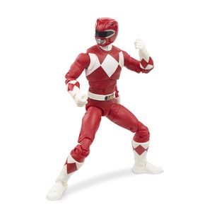 [Mighty Morphin Power Rangers: Lightning Collection Action Figure: Mighty Morphin Red Ranger (Product Image)]