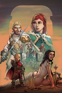 [George R.R. Martin's A Clash Of Kings #10 (Rubi Virgin Variant) (Product Image)]